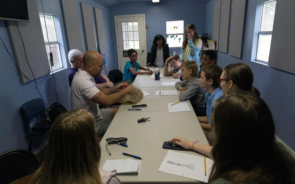 Kids participating in Sunday school for Youth in Denham Springs